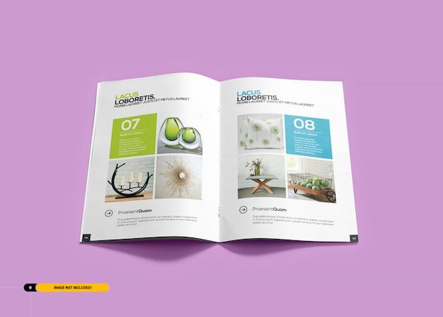Brochure magazine maquette