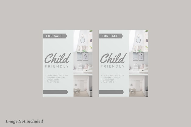 Brochure maquette premium psd