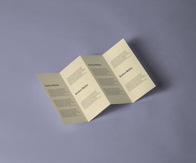 Brochure maquette
