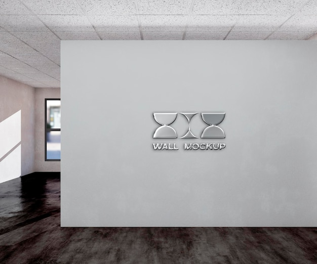 Bureau mur logo mocku