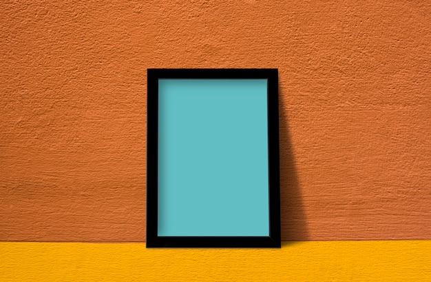 Cadre contre mur