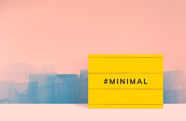 Cadre moderne minimal