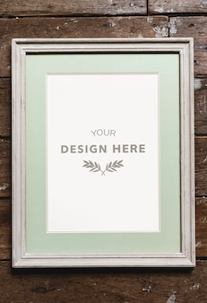 Cadre photo espace design