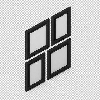 Cadres isométriques