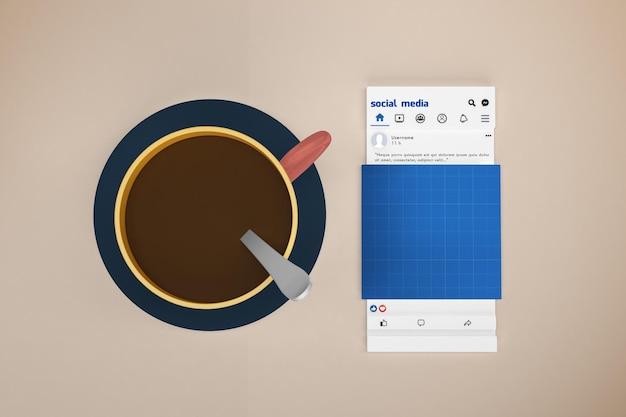 Café médias sociaux v1
