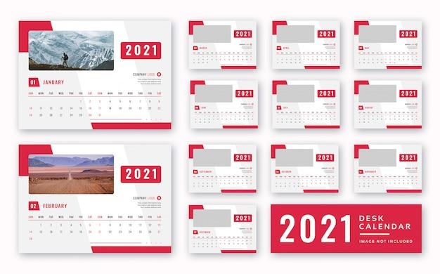 Calendrier de bureau 2021