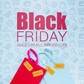Campagne publicitaire le vendredi noir
