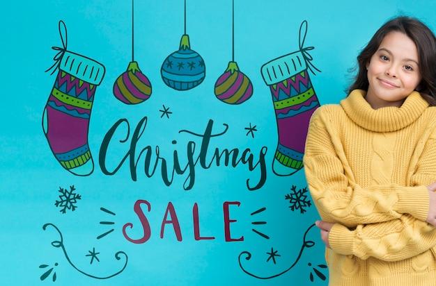 Campagne de vente saisonnière d'hiver