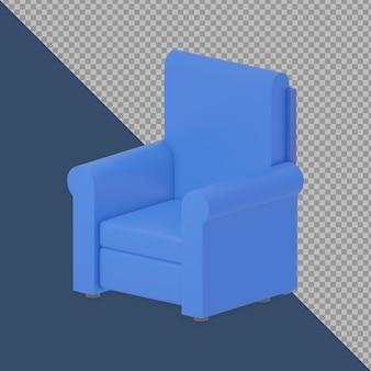 Canapé 3d isométrique