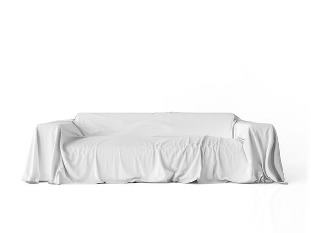 Canapé confortable isolé