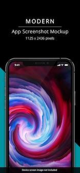 Capture d'écran liquide mobile
