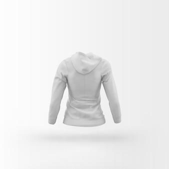 Cardigan blanc flottant sur blanc