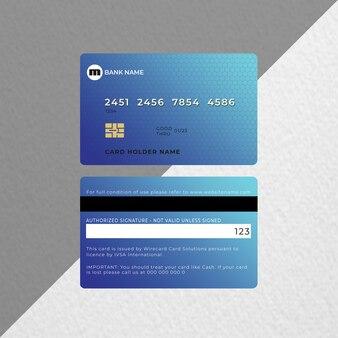 Carte de crédit ou carte bancaire