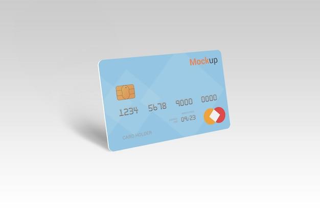 Carte de débit, carte de crédit, maquette de carte à puce