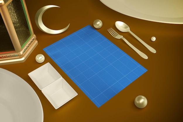 Carte du restaurant du ramadan