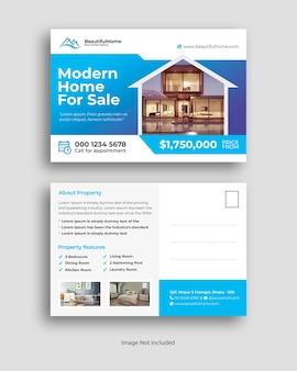 Carte postale de l'immobilier