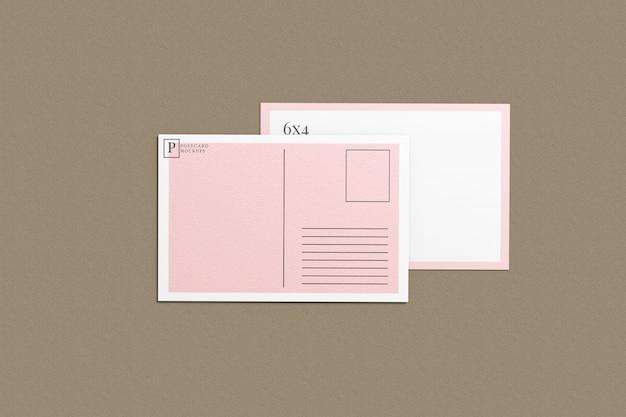 Carte postale et maquette d'invitation 3