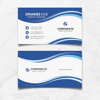 Carte de visite creative clean