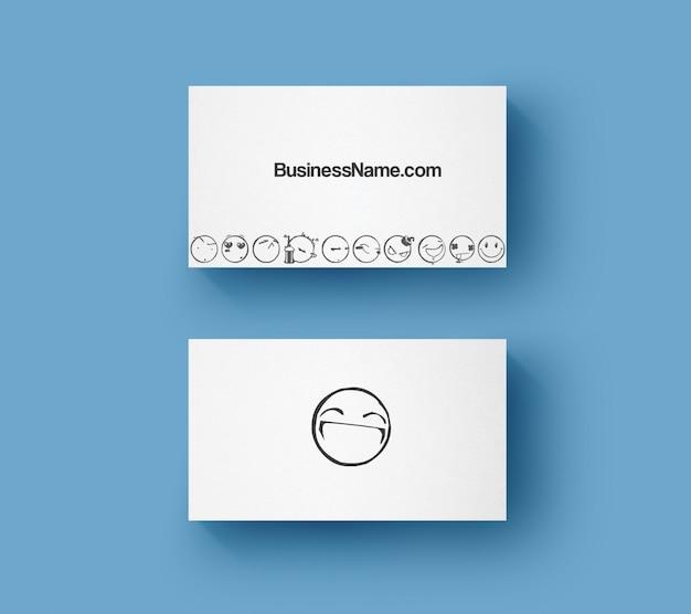 Carte de visite sourire