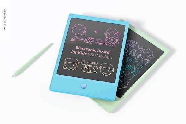 Cartes électroniques pour maquettes pour enfants, empilées