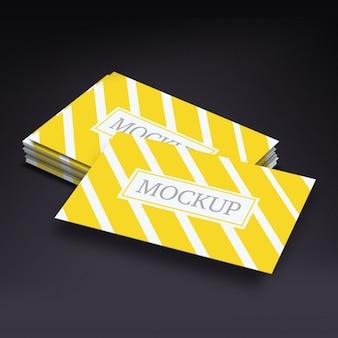 Cartes de visite modèle