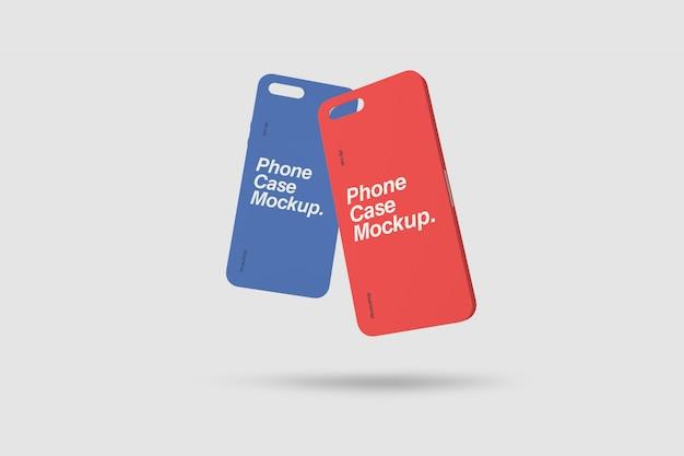 Cas de téléphone photoshop mockup