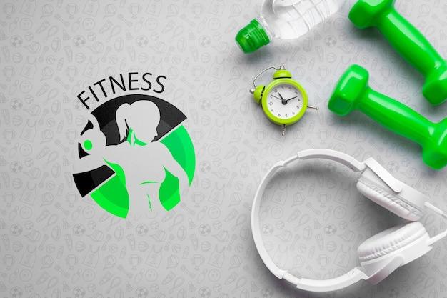 Casque et équipement de cours de fitness