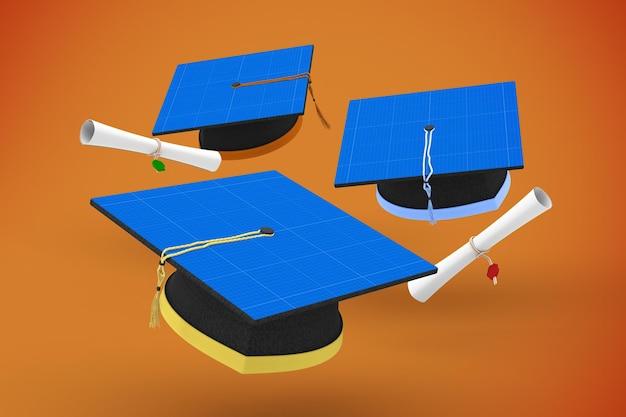 Casquette de remise des diplômes