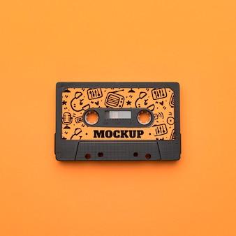 Cassette radi avec maquette