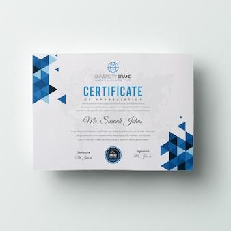 Certificat d'entreprise