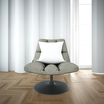 Chaise moderne confortable