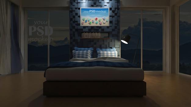 Chambre 3d vue mer
