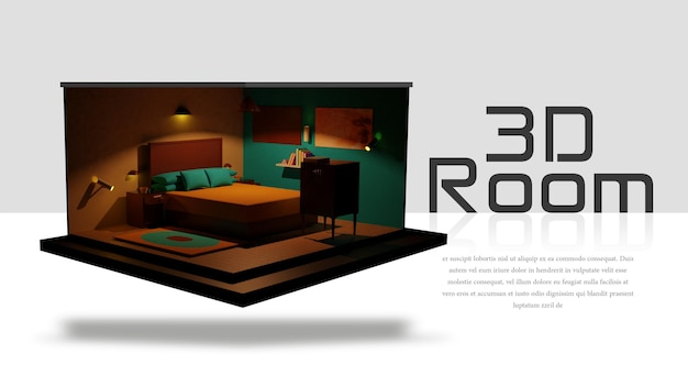 Chambre 3d