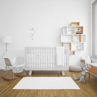 Chambre bébé avec luminosité