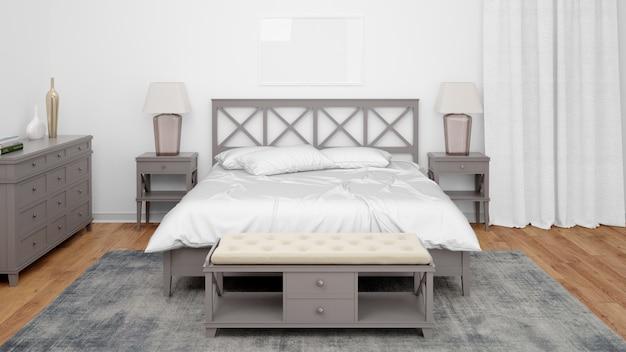 Chambre ou chambre d'hôtel avec un style classique et un mobilier élégant