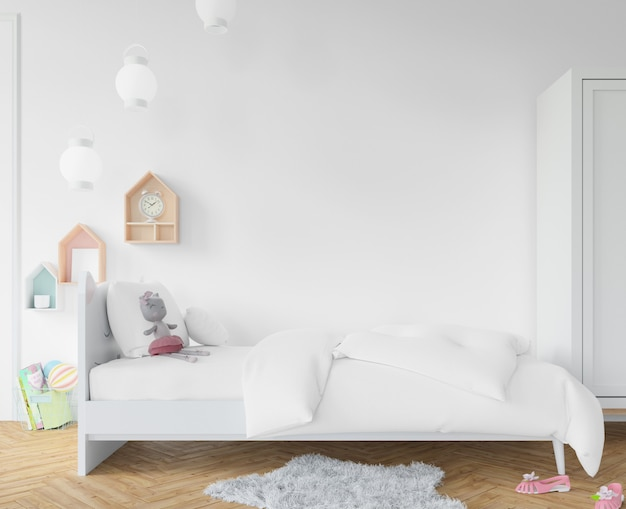 Chambre avec draps blancs