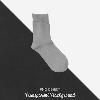 Chaussettes grises transparentes