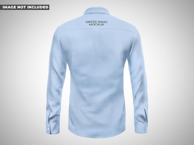 Chemise habillée maquette vue arrière