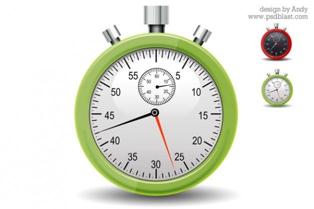Chronomètre icône psd