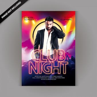 Circulaire du club night party