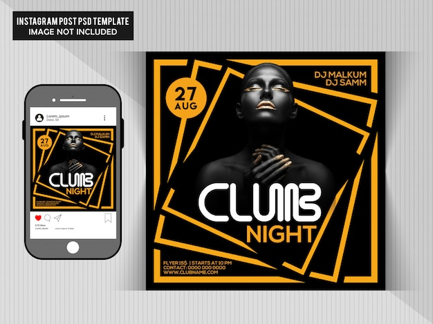 Circulaire du club night party
