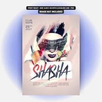Circulaire du shasha party
