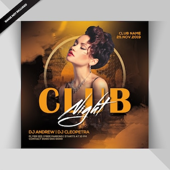 Circulaire party club night