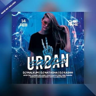 Circulaire party urban sounds