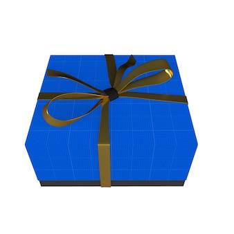 Coffret cadeau or et noir