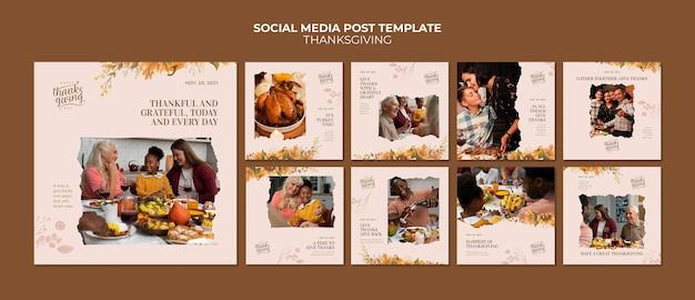 Collection de messages ig joyeux jour de thanksgiving