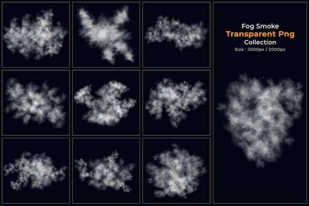 Collection transparente de fumée de brouillard
