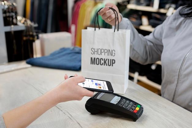 Composition de l'application de paiement mobile