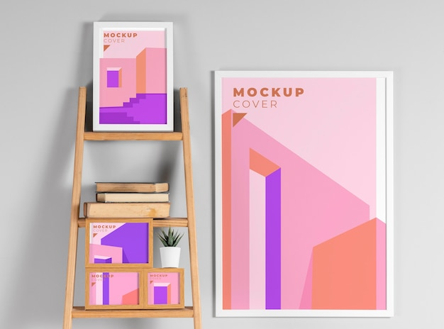 Composition de cadres de maquette modernes