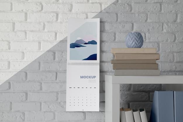 Composition de calendrier de maquette créative